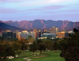 Phoenix Arizona Cityscape View